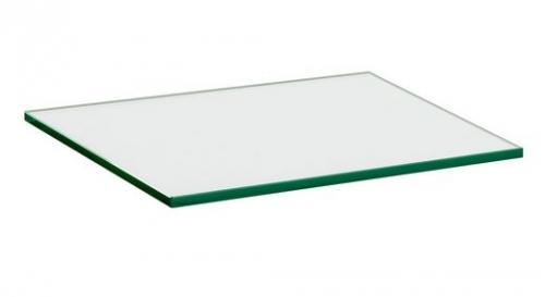 400x300x10mm clear glass shelf large