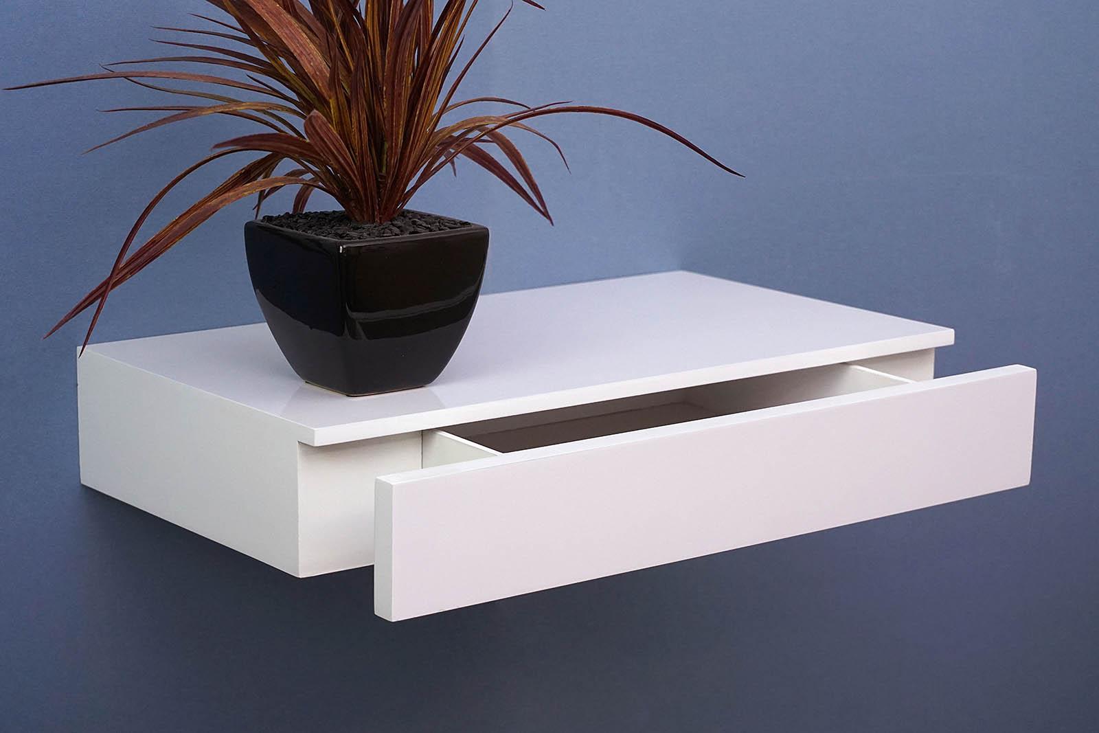 floating shelf with drawer topshelf. Black Bedroom Furniture Sets. Home Design Ideas