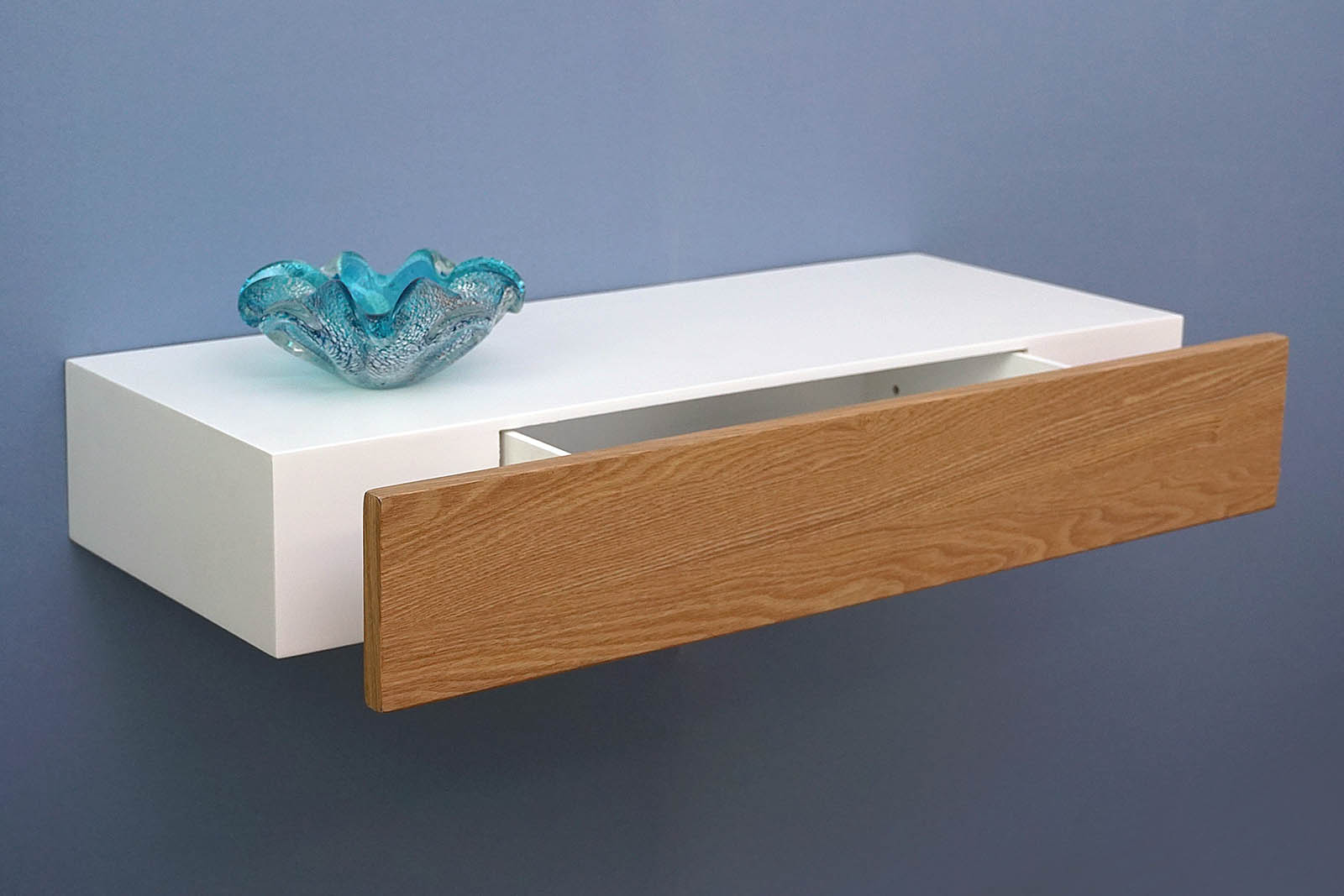 Floating Shelf With Ash Drawer Topshelf