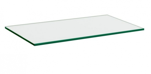 600x300x10mm clear glass large