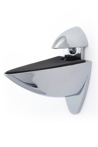 ARA clip bracket Chrome finish