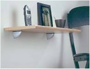 Beech shelf with Clips