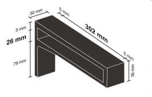 Belt bracket dimensions - Copy