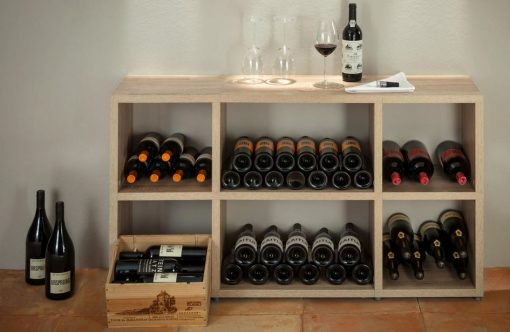Boon Oak 6 cube mix wine display situ - Copy