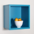 Clic Turquoise lemon bowl wall shot