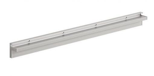 Glass slot bracket  600x10mm large
