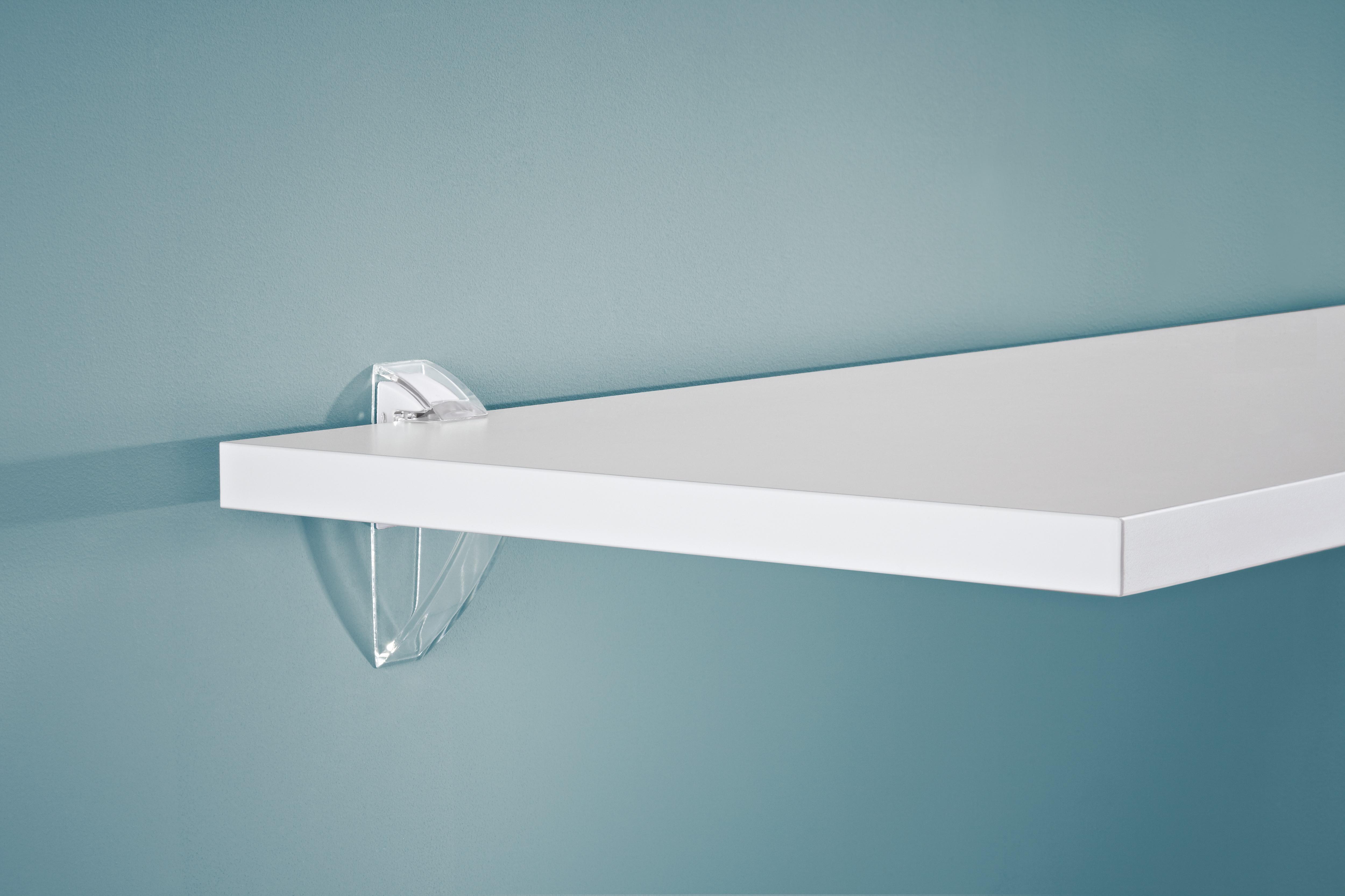Transparent 19mm Clips Pair Topshelf