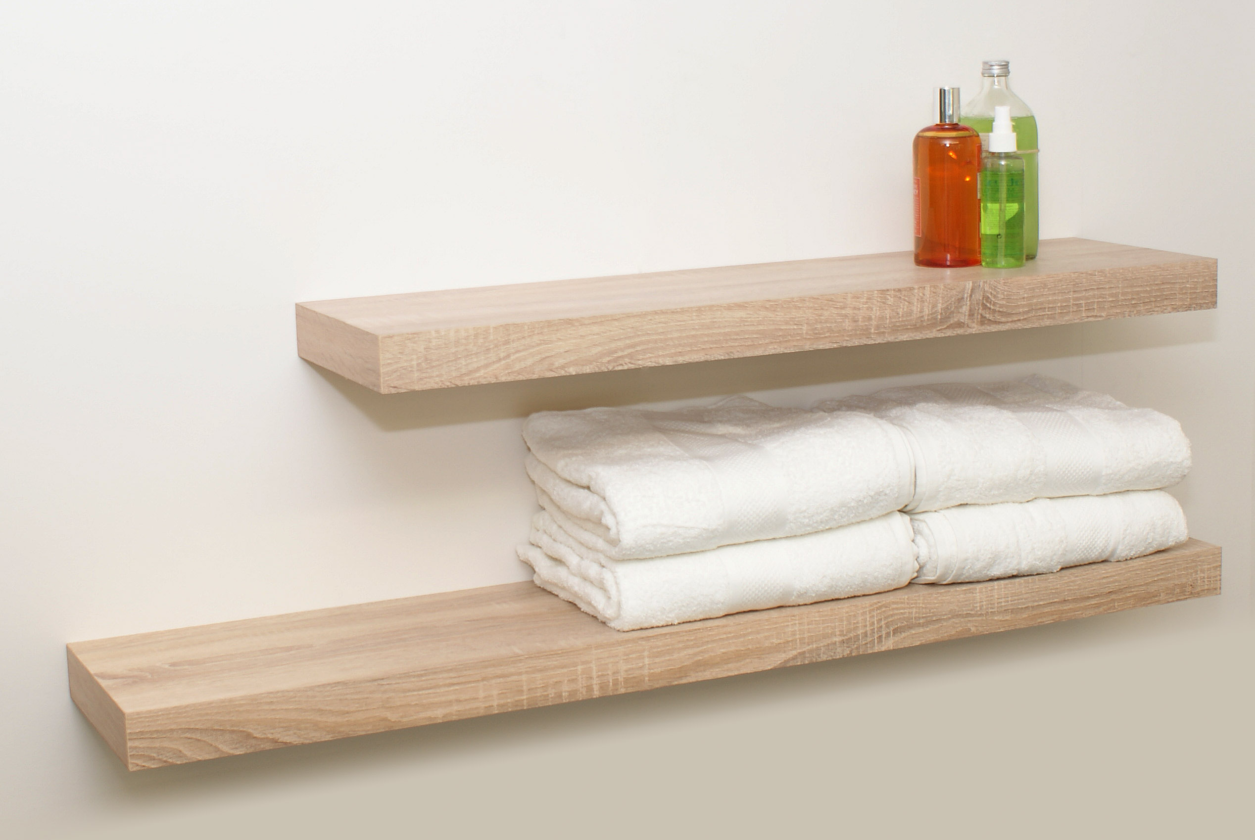 Floating Wood Shelves ~ Floating shelf kit topshelf