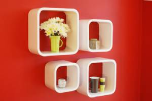 S4 Kube Shelf Kit Large Rounded