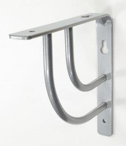 Swing bracket Gloss Aluminium 1016GLA