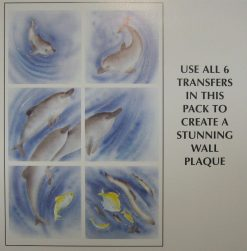 TRA657 DOLPHIN PLAQUE LARGE