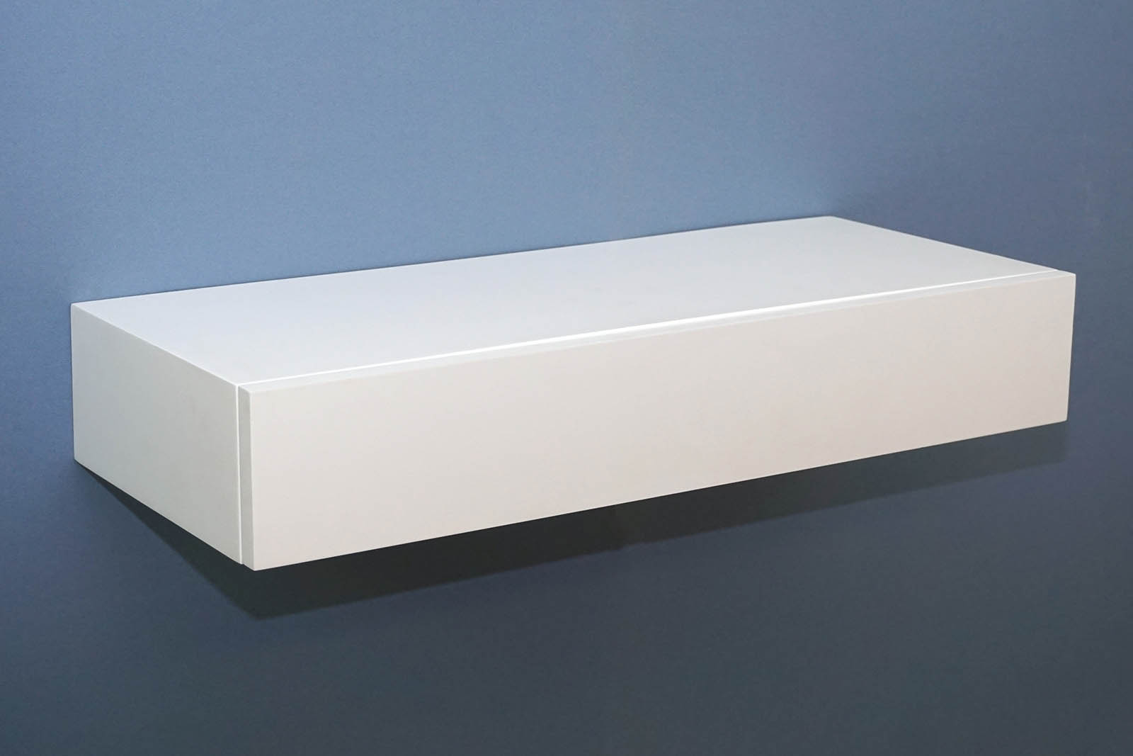 Floating Shelf with Drawer 600x250x100mm