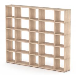 Boon Mixed Oak 5x5 Topshelf