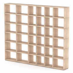 Boon Mixed Oak 6x6 Topshelf