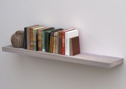 Topshelf 51223WHTOAK White Oak Floating Shelf 1200mm x 250 x 38mm