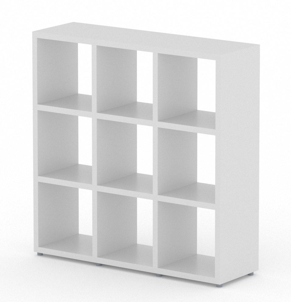 Boon 9 Cube White Topshelf