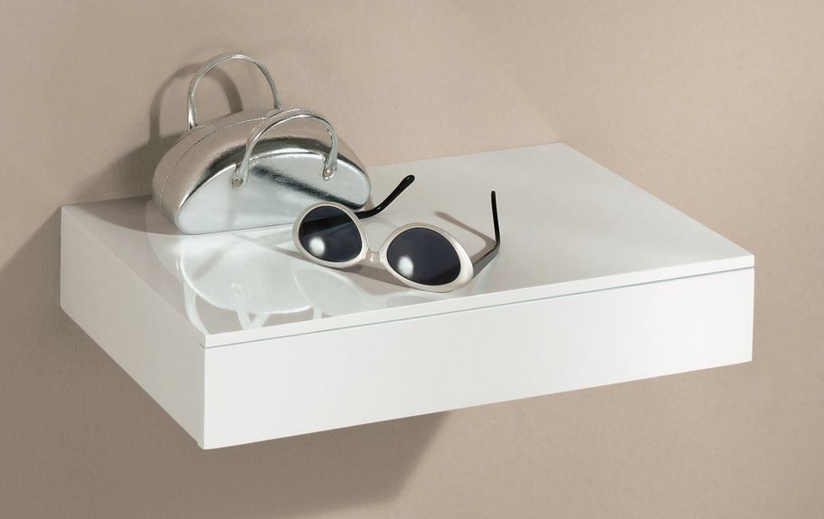 Floating Shelf With Draw Closed Situ Large