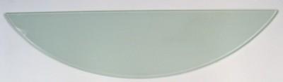 600x150x6mm Half Moon Glass Shelf